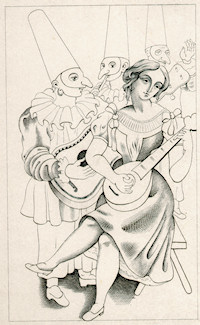 Etching - Gino Severini